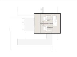 Contra House: Prefab moderne beton villa | Cannes Verdieping 1