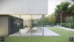Moderne Rauw Minimalistische woning, Asenray