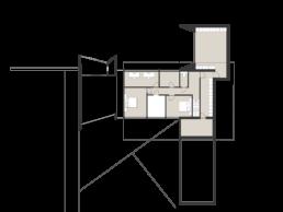 Water House beneden verdieping