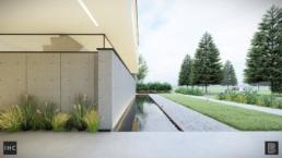 Prefab minimalistische betonwoning, Herten | BRUIS Architectuur