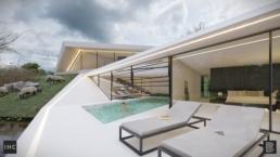Shifted house - Minimalistische - moderne - luxe villa Hilversum